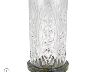 8 1 4a Waterford Crystal W  Connemara Marble Base Ah Chara Failte Hurricane