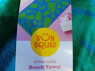 Sun Squad Extra long Beach Towel