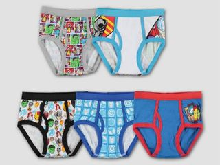 Boys  Marvel Avengers 5pk Underwear   8