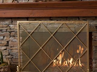 Howell Single Panel Fireplace Screen by Christopher Knight Home   Retail 159 99