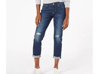 DENIZEN from levi s Women s Mid Rise Slim Boyfriend Jeans   Take It Breezy 2