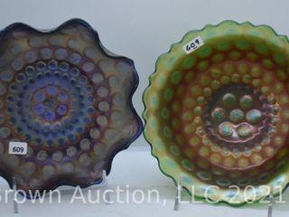 2  Carnival Coin Dot bowls