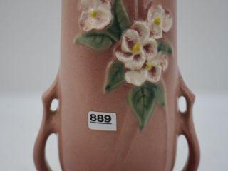 Roseville Mock Orange 982 8  vase  pink
