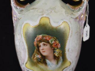 Royal Saxe ES 8  portrait vase
