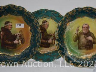 3  St Kilian Germany plates