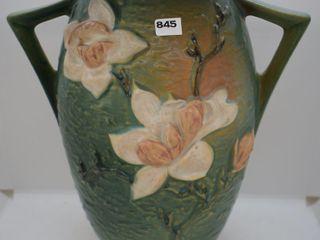 Roseville Magnolia 96 12  vase  green
