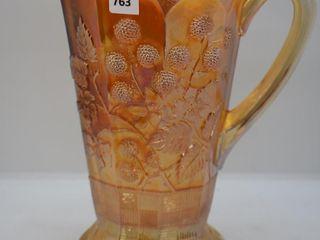 Carnival Raspberry 8 5 h pitcher  marigold