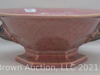 Roseville Tuscany 172 9  bowl  pink