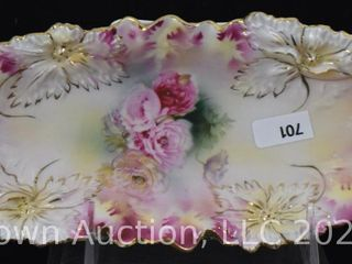 R S  Prussia Carnation Mold 9 l relish