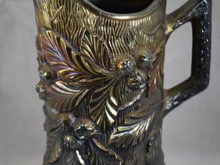 Carnival Acorn Burrs 9  black amy  water pitcher