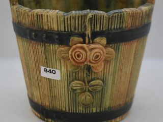 Weller Woodrose ice bucket 6  jardiniere