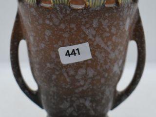 Roseville Ferella 500 5  vase  brown