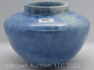 Roseville Tourmaline A 200 4  vase  blue