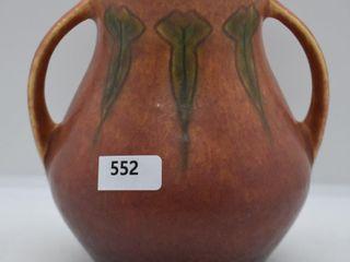 Roseville Windsor 545 5  vase  brown