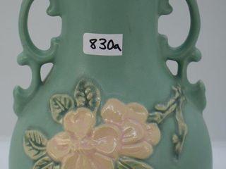 Weller Blossom 9 5  vase  green