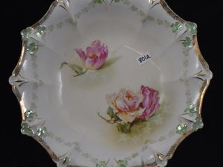R S  Prussia 10 5  bowl  red mark