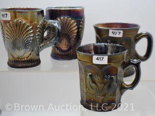 4  Carnival 3 5  mugs