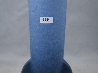 Roseville Rozane Patterns 10 12  vase  blue