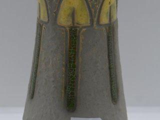 Roseville Mostique 164 8  vase  gray