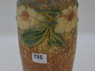 Roseville Dahlrose 363 6  vase