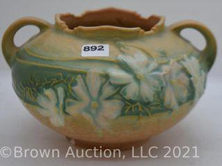 Roseville Cosmos 375 4  bowl  tan
