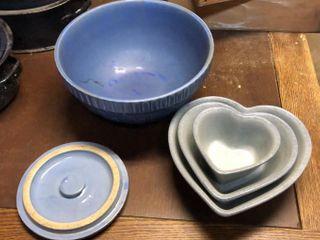 Blue Stone Bowls