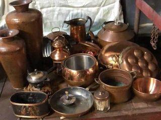 Assortment of Copper