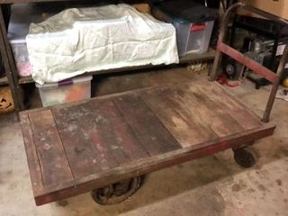 Antique Warehouse   Railroad Cart