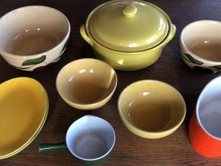 Colorful Ceramic Ovenware