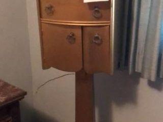 Vintage ladies Valet on Pedestal