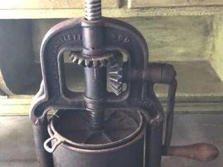 Antique lard Press