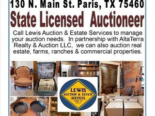 LEWIS AUCTION & ESTATE SERVICES