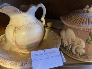 Cermic Bowl   Mushroom Collection