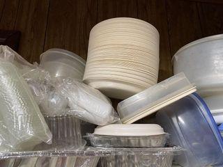 Entire Shelf Tupperware w lids