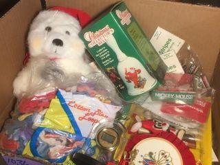 Christmas Box Deco Items