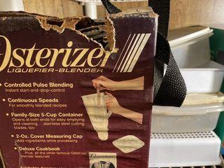 Osterizer Blender   Ziploc Pack