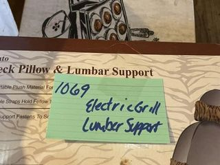 Electric Grill Camping lumber Support