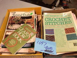 Crochet Books  lot