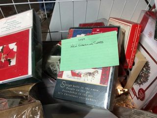 large Box of Greeting Cards Hallmark and More