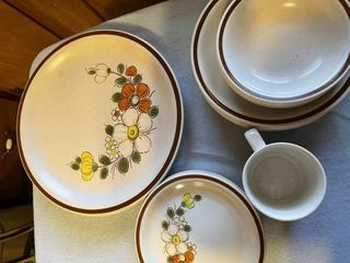 large Dinnerware Collection Wood Haven Collection