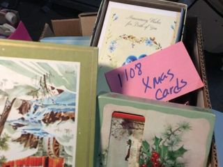 Christmas Cards In Boxes