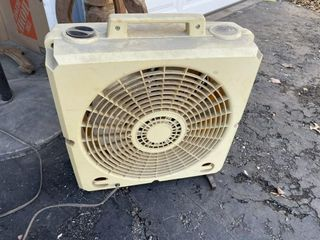 Black Fan and Stand