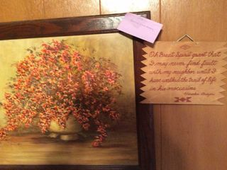 Indian Proverb   wooden Framed Picture