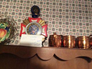 Kitchen Clock VA Decantur and Mugs