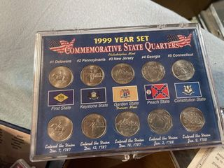 Coin Collection State Quarters 1999   2008