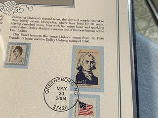 Postal Collection American Beauty 1st ladies