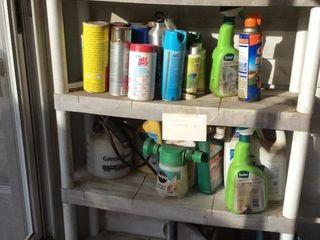 All Items on Shelves   Plastic 4ft Shelves