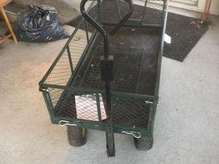 Green Yard Cart