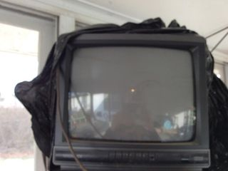 14  Screen Color TV on Stand