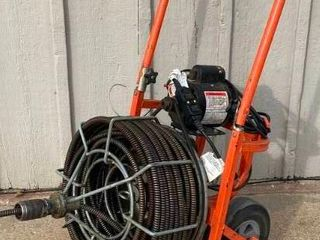 COMMERCIAl General Mini Roto   Sewer Snake Machine   Super Heavy Duty   3 4  100    Works